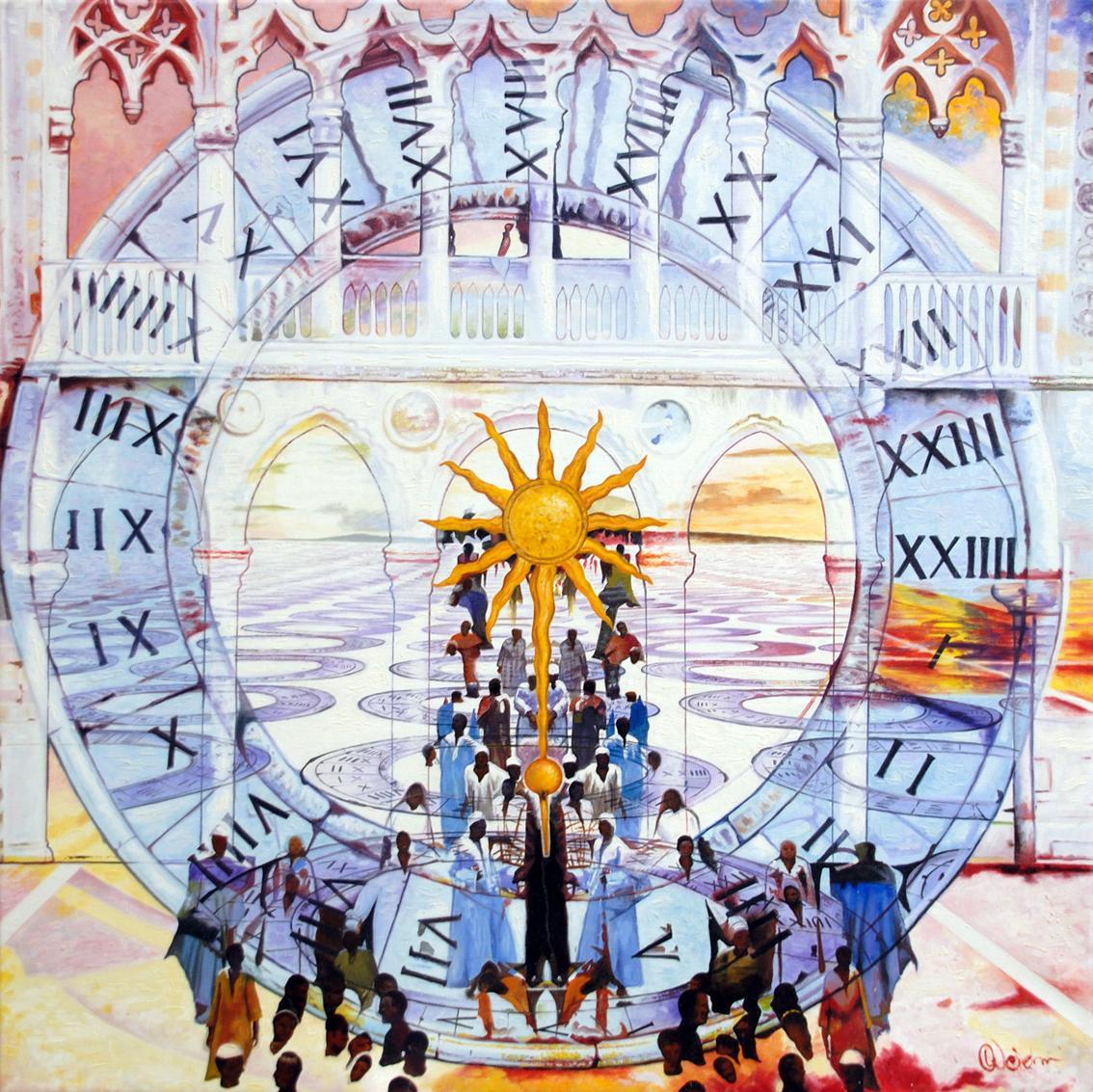 Die Zeit im Sonnenkreis